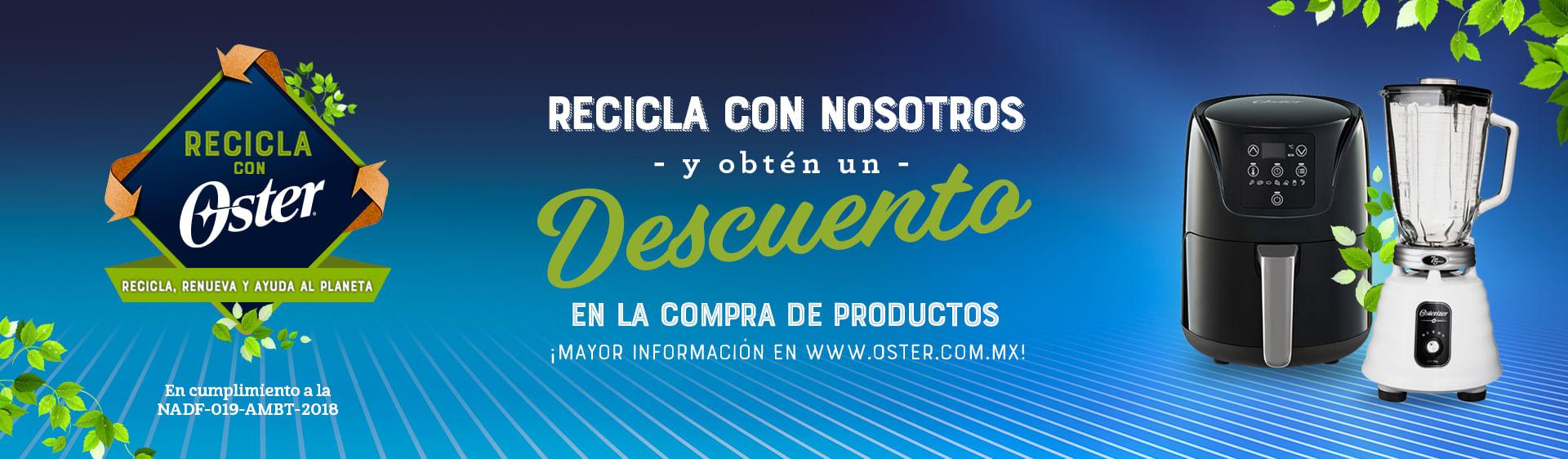 Banner campaña de reciclaje